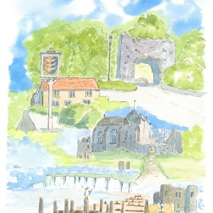A5 card Eclectic Winchelsea
